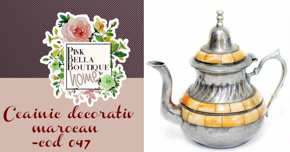 Ceainic decorativ 047